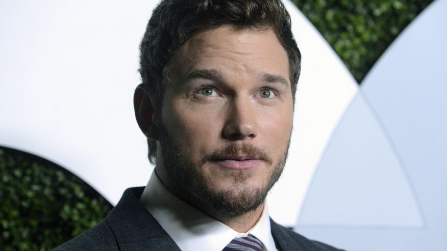Chriss Pratt eyes up reuters